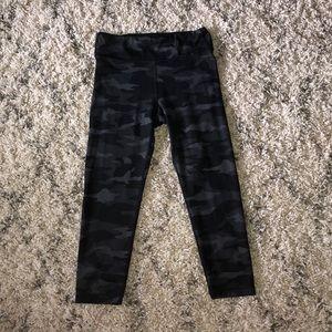 Athleta Girl black camo leggings